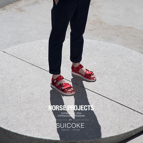 Norse Projects x SUICOKE Japan